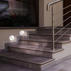 Aplica Exterior Rabalux Amarillo 7980 LED, Alb, Plastic, Ungaria