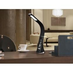 Lampa de Birou ALIVE Schuller Led, Piele Neagra 468227 Spania