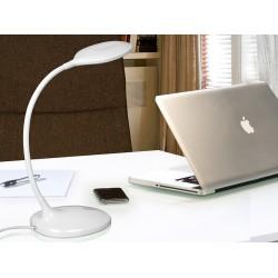 Lampa de Birou SCOOP Schuller Led, Alb 552758 Spania