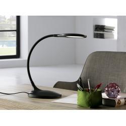 Lampa de Birou SCOOP Schuller Led, Negru Mat 552764 Spania