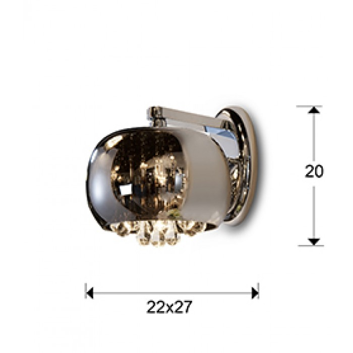 Aplica ARGOS Schuller G9, Crom 509327 Spania