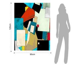 Abstract-B Imprimeu, 2565, Tomasucci Italia, Tiparire Pe Pânza